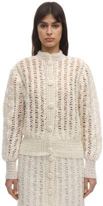 Liya Open Lock Crochet Cardigan