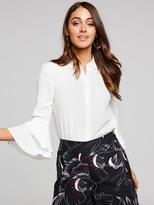 Portmans Betty Bell Sleeve Layer Shirt