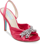 Blue by Betsey Johnson Briel Evening Slingback Pumps Women's Shoes