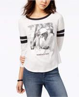 Merch Traffic Juniors' Jay Z & Biggie Graphic Ringer T-Shirt
