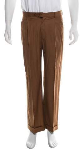 Zanella Wool Cropped Dress Pants