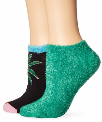 Hue Women's Footsie Ankle Sock Gift Box Set 2 Pair Pack