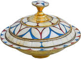 One Kings Lane Vintage Moroccan Lidded Bowl