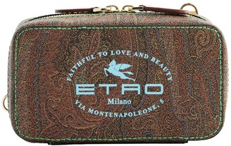 Etro Paisley Clutch Bag With Logo