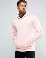 SikSilk Tricot Hoodie In Pink