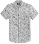 American Rag Men's Floral Overlap Cotton Shirt, Only at Macy's