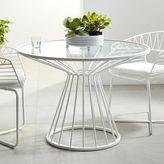 west elm Soleil Metal Outdoor Dining Table + Set