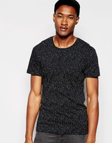 Minimum T-shirt With Fleck - Black