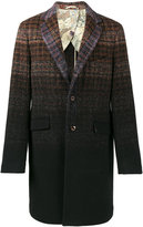 Etro gradient check coat