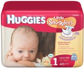 Huggies SUPREME Step size 1 - Pack of 40 diapers