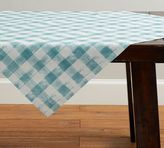 Pottery Barn Rhett Check Table Throw