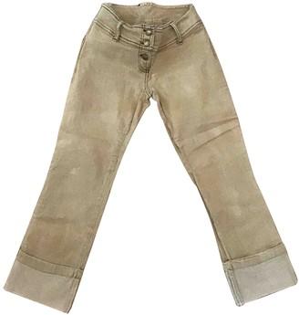 Plein Sud Jeans Ecru Denim - Jeans Trousers for Women