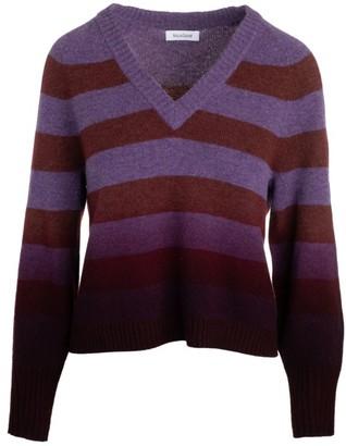 Naadam Dip-Dye Striped Sweater