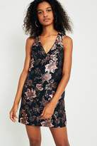 Urban Outfitters Jacquie Jacquard Shift Dress