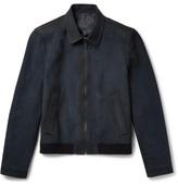 Prada Oiled-Suede Jacket