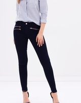 Dorothy Perkins Zip Bailey Super Skinny Stretch Jeans