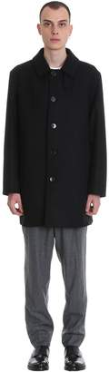MACKINTOSH Dunoon Bt Coat In Black Wool