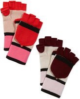 Kate Spade Colorblock Pop Top Gloves