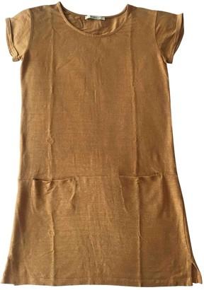 Sessun Camel Linen Dress for Women