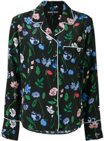 Markus Lupfer floral pyjama-style top