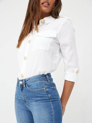 Very Tall Florence High Rise Skinny Jeans - Mid Wash