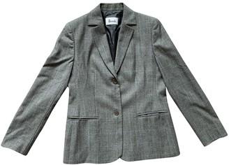 Harrods Grey Wool Jacket for Women