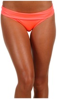 Nike Action - Ultra Flattering Bikini Bottom (Hot Punch/Ice Blue/Hot Punch) - Apparel