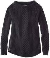 L.L. Bean L.L.Bean Signature Cotton Fisherman Tunic Sweater