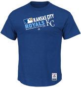 Majestic Men's Kansas City Royals Authentic Collection Choice T-Shirt