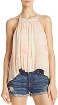 Free People Season in the Sun Lace-Up Top