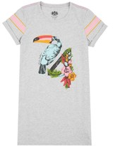 Juicy Couture Girls Knit Toucan Graphic Dress
