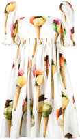 Dolce & Gabbana ice-cream print dress - women - Cotton - 40