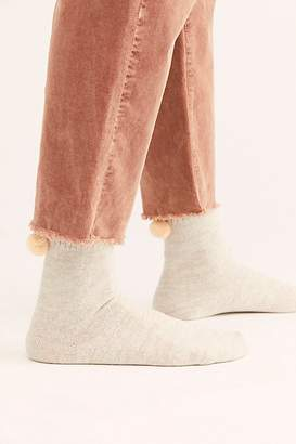 Hansel from Basel Nat Pom Pom Crew Socks by at Free People