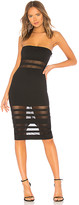 superdown Magdalena Tube Mesh Dress