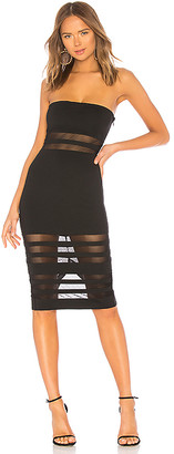 superdown Magdalena Tube Mesh Dress