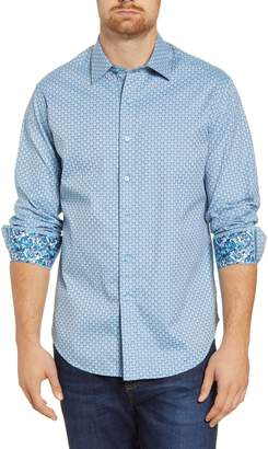 Robert Graham Melrose Classic Fit Jacquard Button-Up Shirt