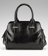 Portfolio Faux Crocodile Skin Tote Bag