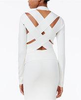 Rachel Roy Lattice-Back Sweater, Only at Macy's