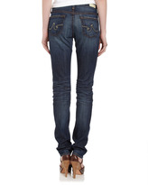 AG Adriano Goldschmied Premiere Five-Years Skinny Straight Jeans