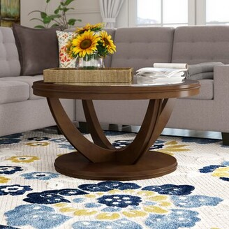 Charlton Homeâ® Williamsville Pedestal Coffee Table Charlton HomeA