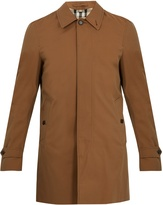 Burberry Roeford single-breasted cotton-gabardine coat