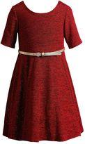 Youngland Girls 4-6x Glitter Fashion Dress