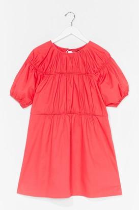 Nasty Gal Womens Back in a Mini Dress - Pink - 4