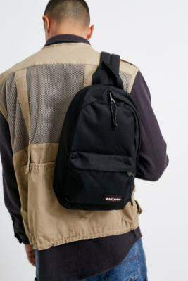 Eastpak Litt Black One-Strap Backpack - black at Urban Outfitters