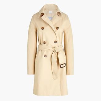 J.Crew Petite classic trench coat