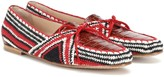 Gabriela Hearst Hays crocheted loafers
