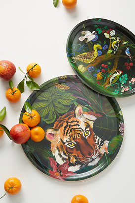 Nathalie Lete Animalia Decorative Tray By Nathalie Lete in Green Size ALL