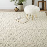 Variegated Knot Wool Rug
