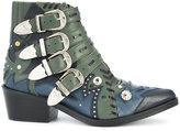 Toga Pulla embellished buckle boots