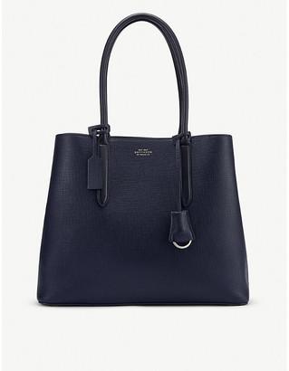 Smythson Ciappa Business leather bag